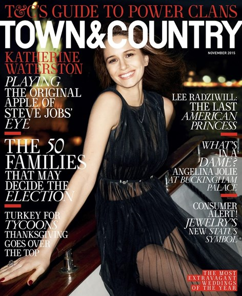Town & Country Cover - 11/1/2015