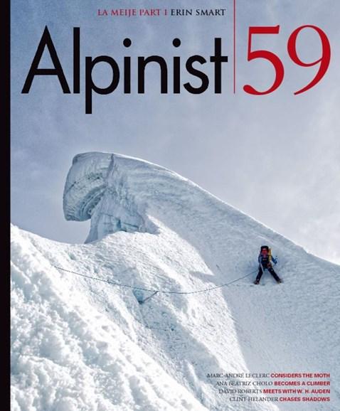 Alpinist Cover - 9/1/2017
