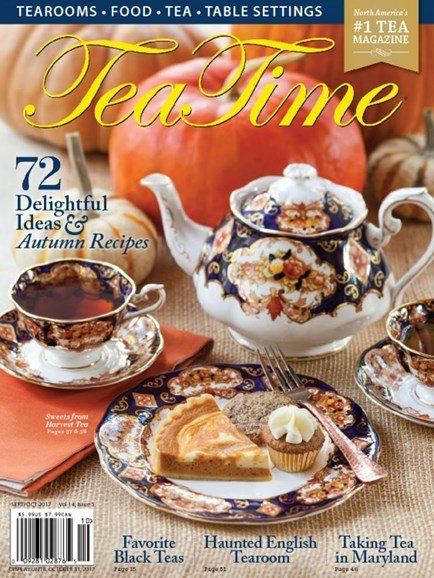 Tea Time Cover - 9/1/2017