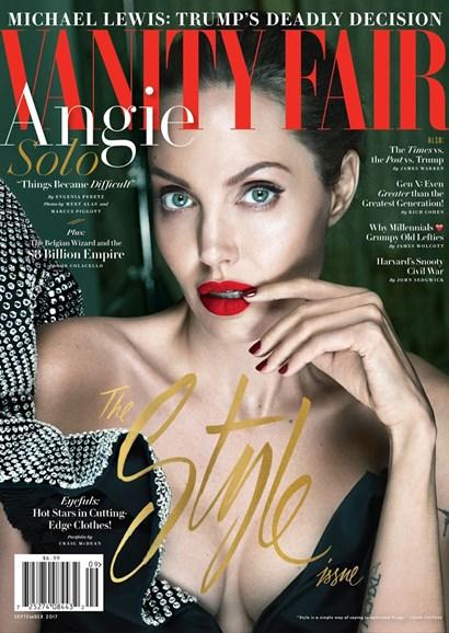 Vanity Fair Cover - 9/1/2017