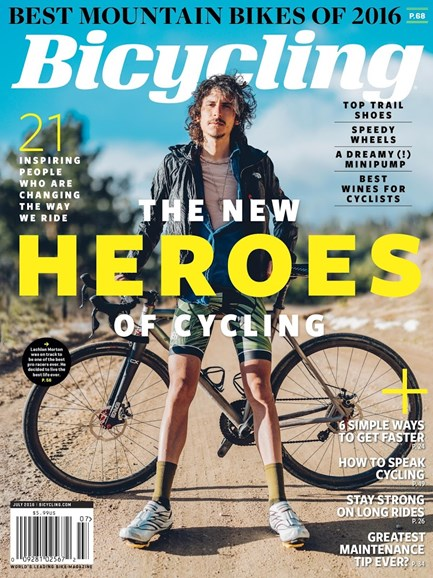 Bicycling Cover - 7/1/2016
