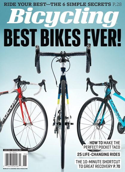 Bicycling Cover - 6/1/2016