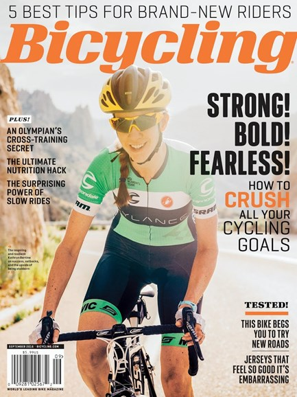 Bicycling Cover - 9/1/2016
