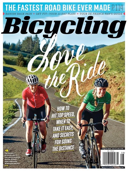 Bicycling Cover - 8/1/2015