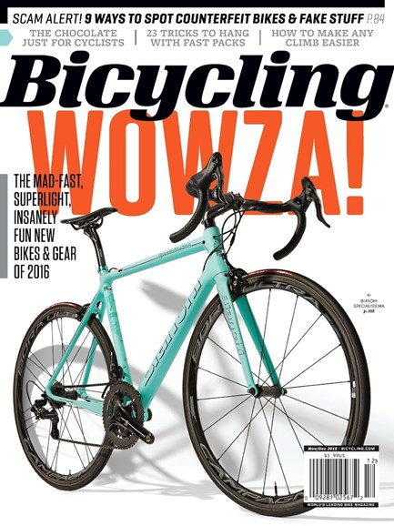 Bicycling Cover - 11/1/2015