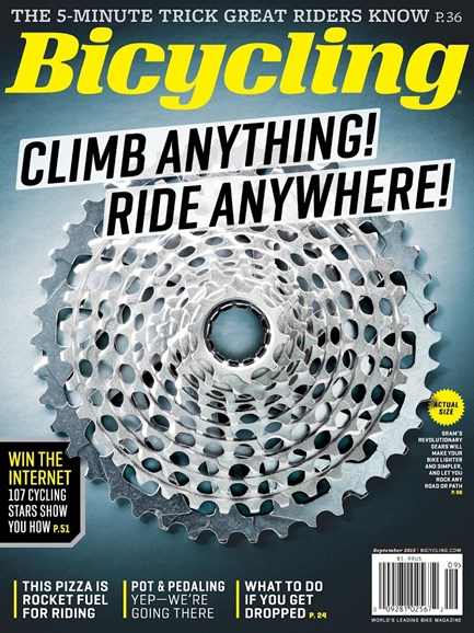Bicycling Cover - 9/1/2015