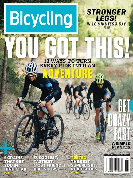 Bicycling Cover - 5/1/2015