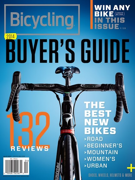 Bicycling Cover - 4/1/2014