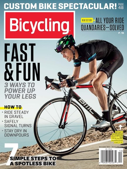 Bicycling Cover - 12/1/2014