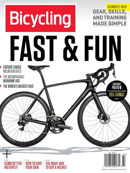 Bicycling Cover - 7/1/2014