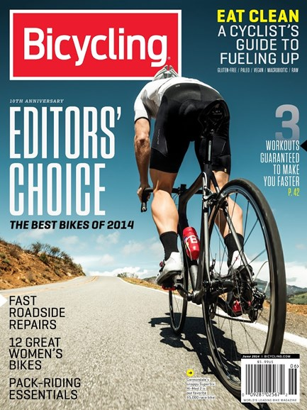 Bicycling Cover - 6/1/2014