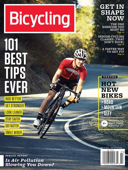 Bicycling Cover - 3/1/2014