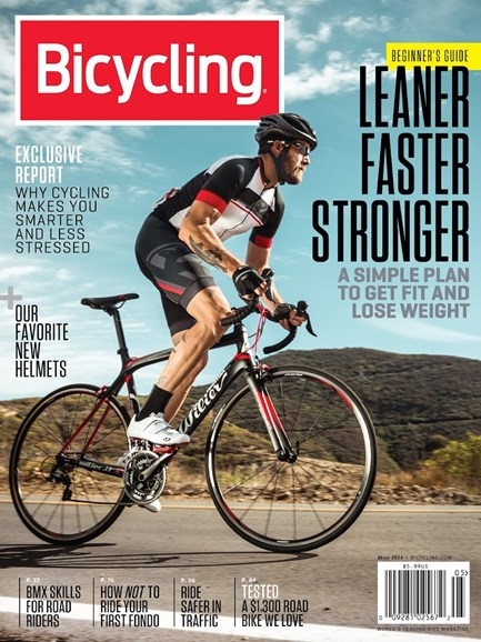 Bicycling Cover - 5/1/2014