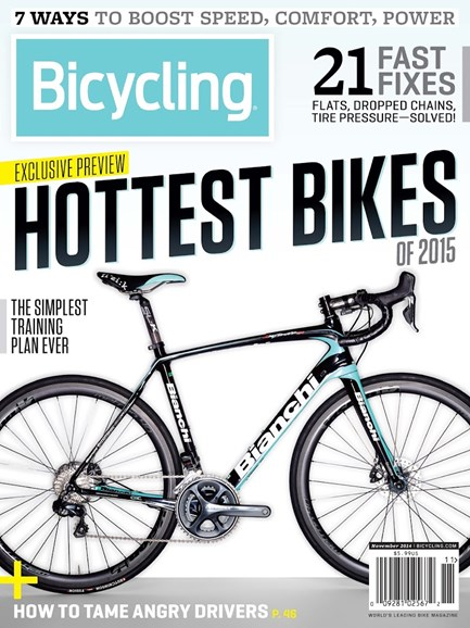 Bicycling Cover - 11/1/2014
