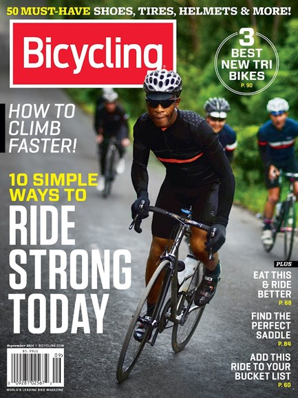 Bicycling Cover - 9/1/2014