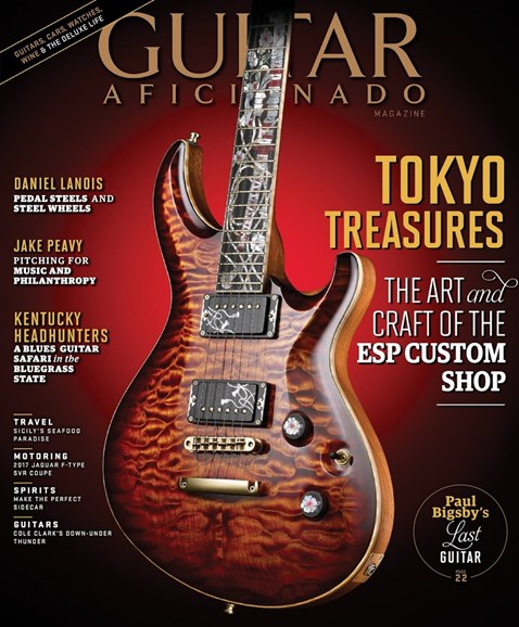 Guitar Aficionado Cover - 1/1/2017