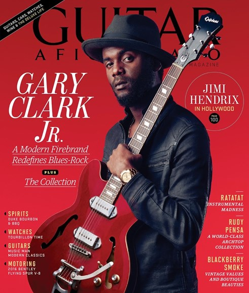 Guitar Aficionado Cover - 1/1/2016
