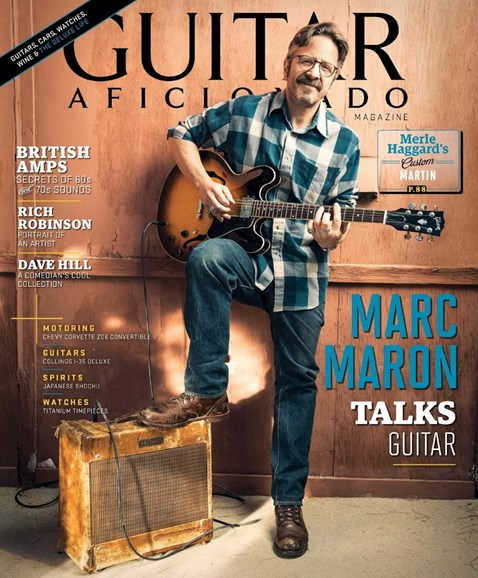 Guitar Aficionado Cover - 7/1/2016