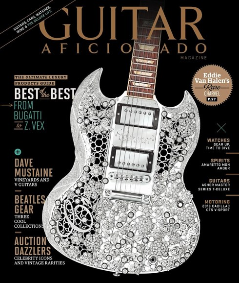 Guitar Aficionado Cover - 5/1/2016