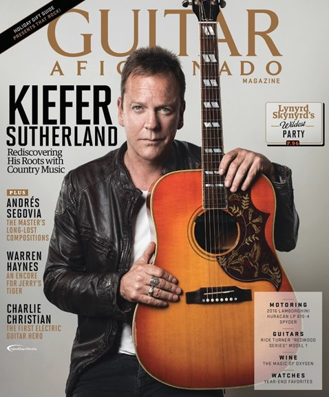 Guitar Aficionado Cover - 11/1/2016