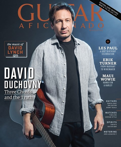 Guitar Aficionado Cover - 7/1/2015