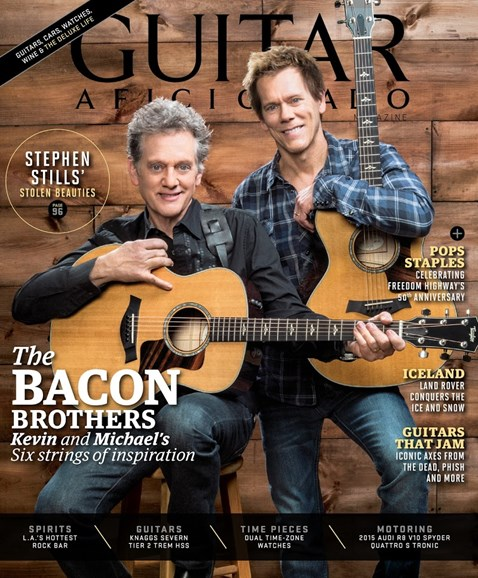 Guitar Aficionado Cover - 5/1/2015