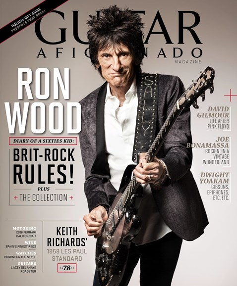Guitar Aficionado Cover - 11/1/2015
