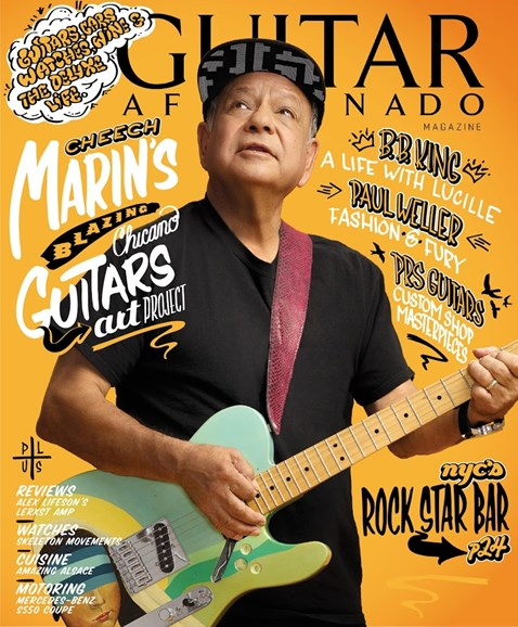 Guitar Aficionado Cover - 9/1/2015