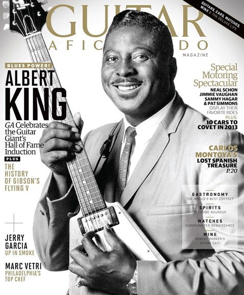 Guitar Aficionado Cover - 3/1/2013