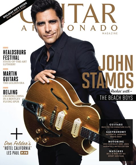 Guitar Aficionado Cover - 11/1/2013