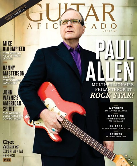 Guitar Aficionado Cover - 9/1/2013