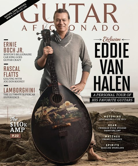 Guitar Aficionado Cover - 1/1/2014