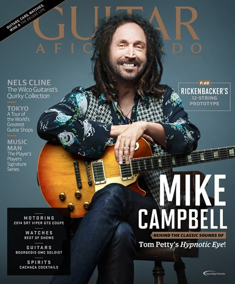 Guitar Aficionado Cover - 7/1/2014