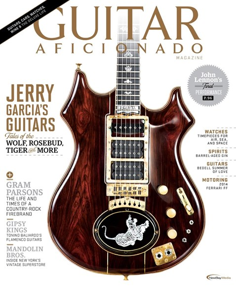 Guitar Aficionado Cover - 5/1/2014