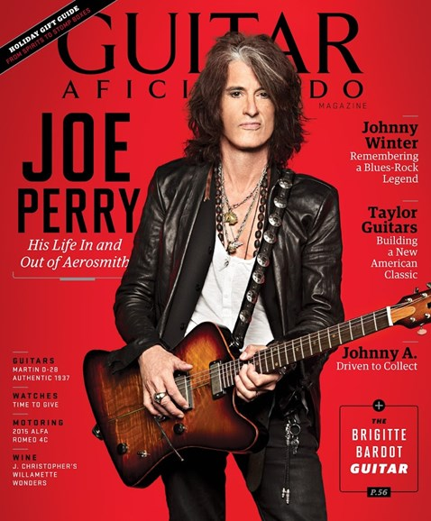 Guitar Aficionado Cover - 11/1/2014
