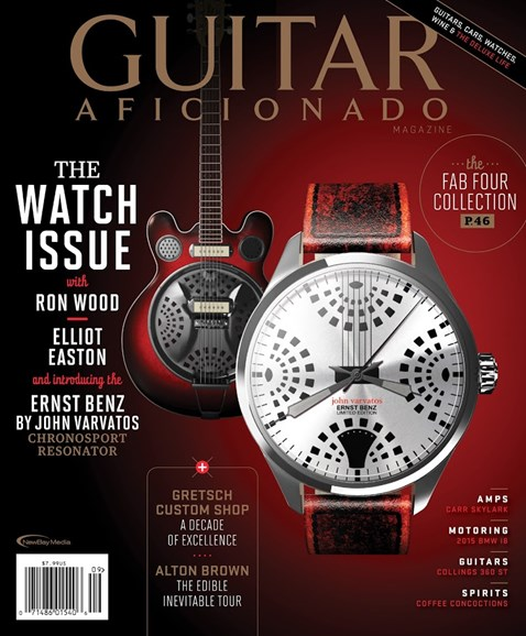 Guitar Aficionado Cover - 9/1/2014