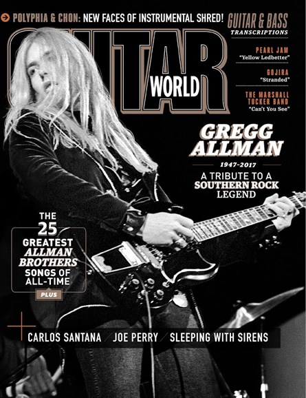 Guitar World Cover - 9/1/2017