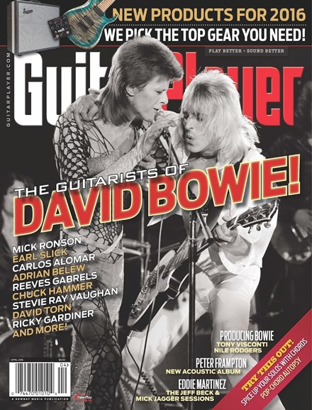 Guitar Player Cover - 4/1/2016