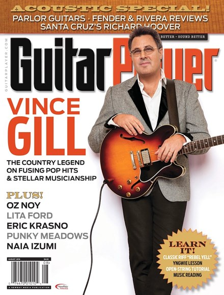Guitar Player Cover - 8/1/2016