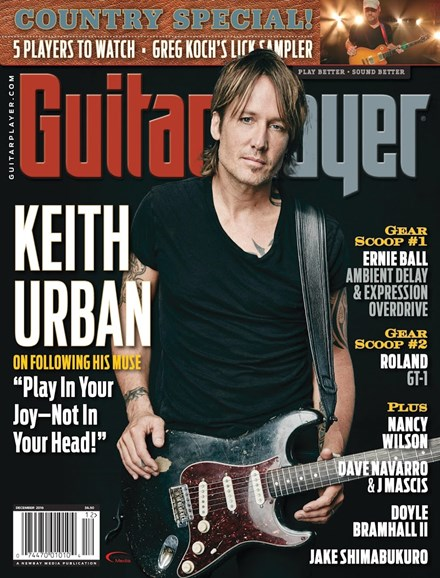 Guitar Player Cover - 12/1/2016