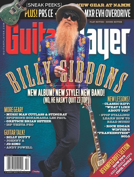 Guitar Player Cover - 2/1/2016