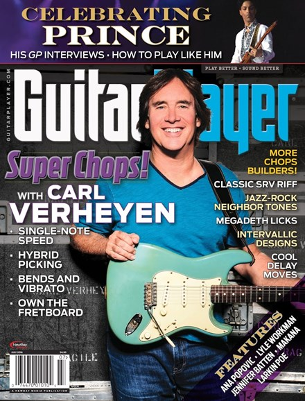 Guitar Player Cover - 7/1/2016