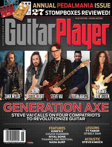 Guitar Player Cover - 6/1/2016