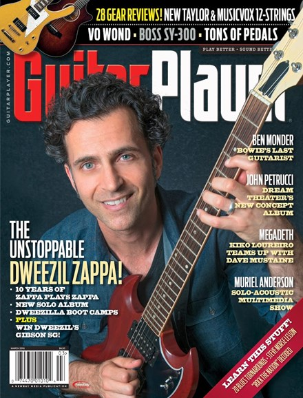 Guitar Player Cover - 3/1/2016