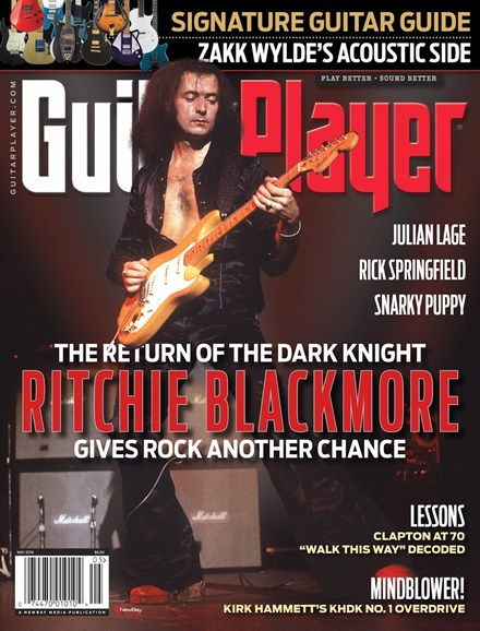 Guitar Player Cover - 5/1/2016