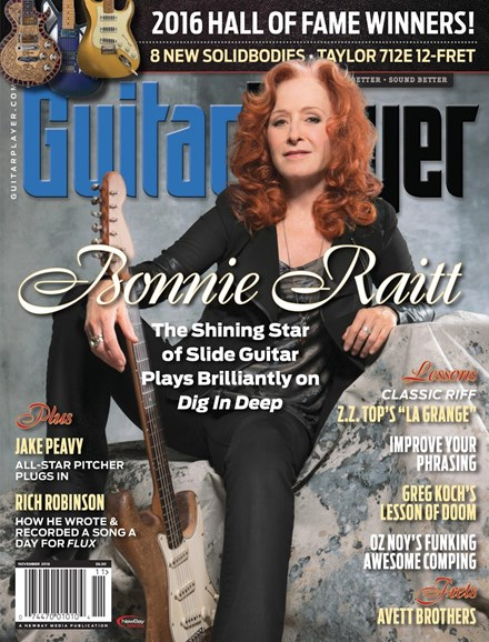 Guitar Player Cover - 11/1/2016