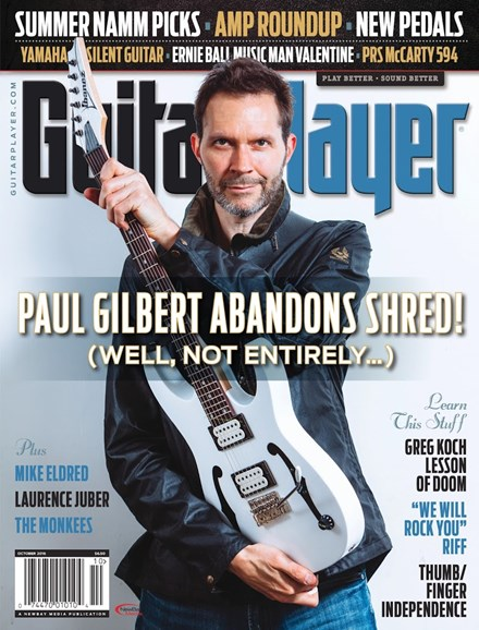 Guitar Player Cover - 10/1/2016