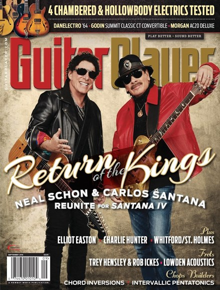Guitar Player Cover - 9/1/2016