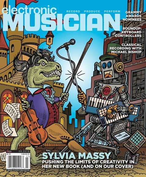 Electronic Musician Cover - 3/1/2016