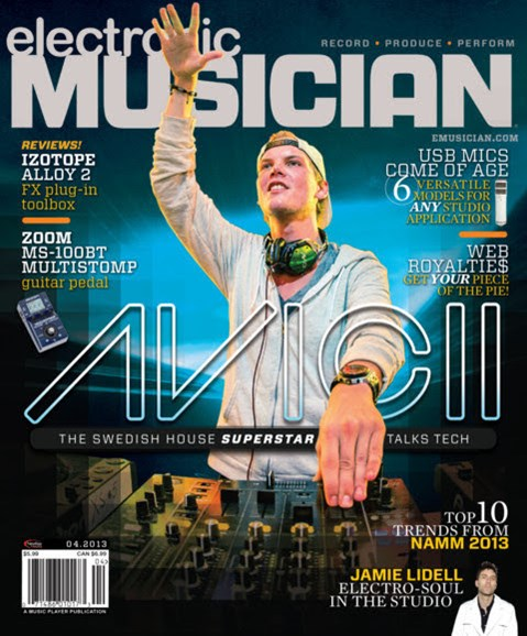 Electronic Musician Cover - 4/1/2013